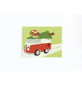 Good Paper Retro Van Holiday Card
