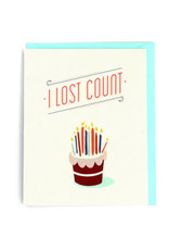 Good Paper Candles Birthday Card