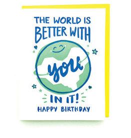 Good Paper World Birthday Card