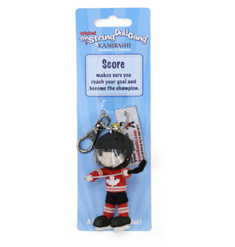 Kamibashi Team Canada Hockey Boy Keychain