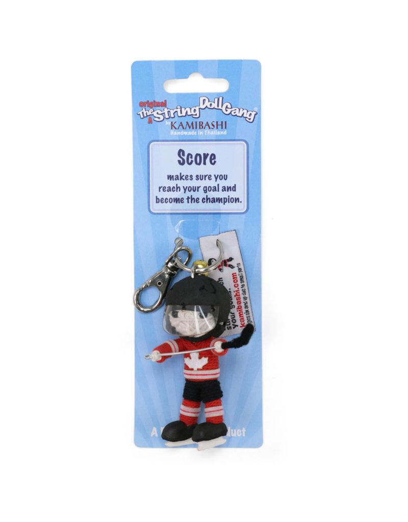 Kamibashi Team Canada Hockey Boy Keychain