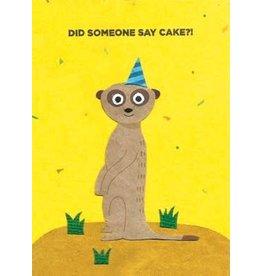 Good Paper Meerkat Birthday Card