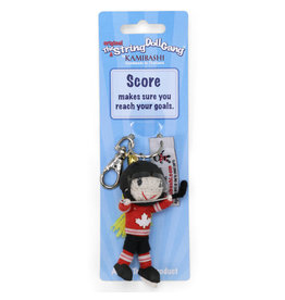 Kamibashi Team Canada Hockey Girl Keychain