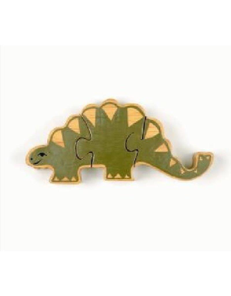 Golden Palm International Stegosaurus Wooden Puzzle