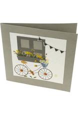 Salay Handmade Paper Industries Inc. Weekend Visit Greeting Card