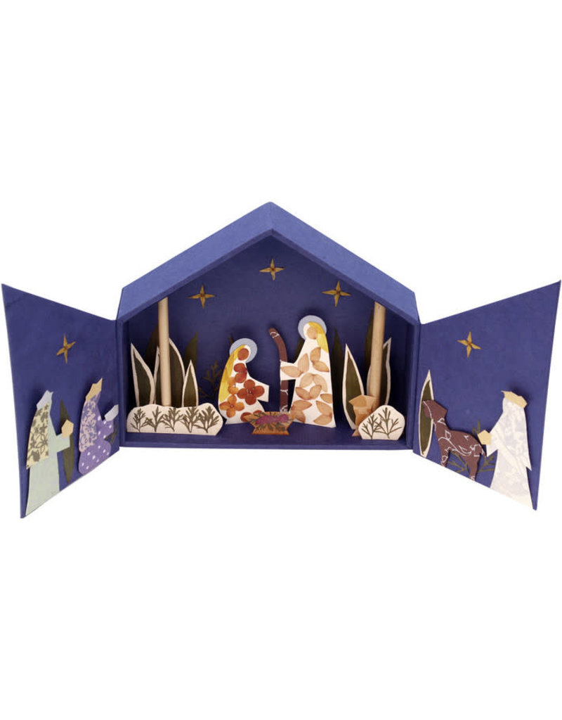 Salay Handmade Paper Industries Inc. Great on Paper Nativity
