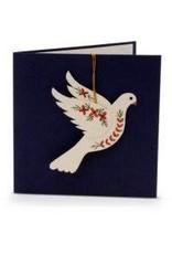 Salay Handmade Paper Industries Inc. Dove Holiday Card