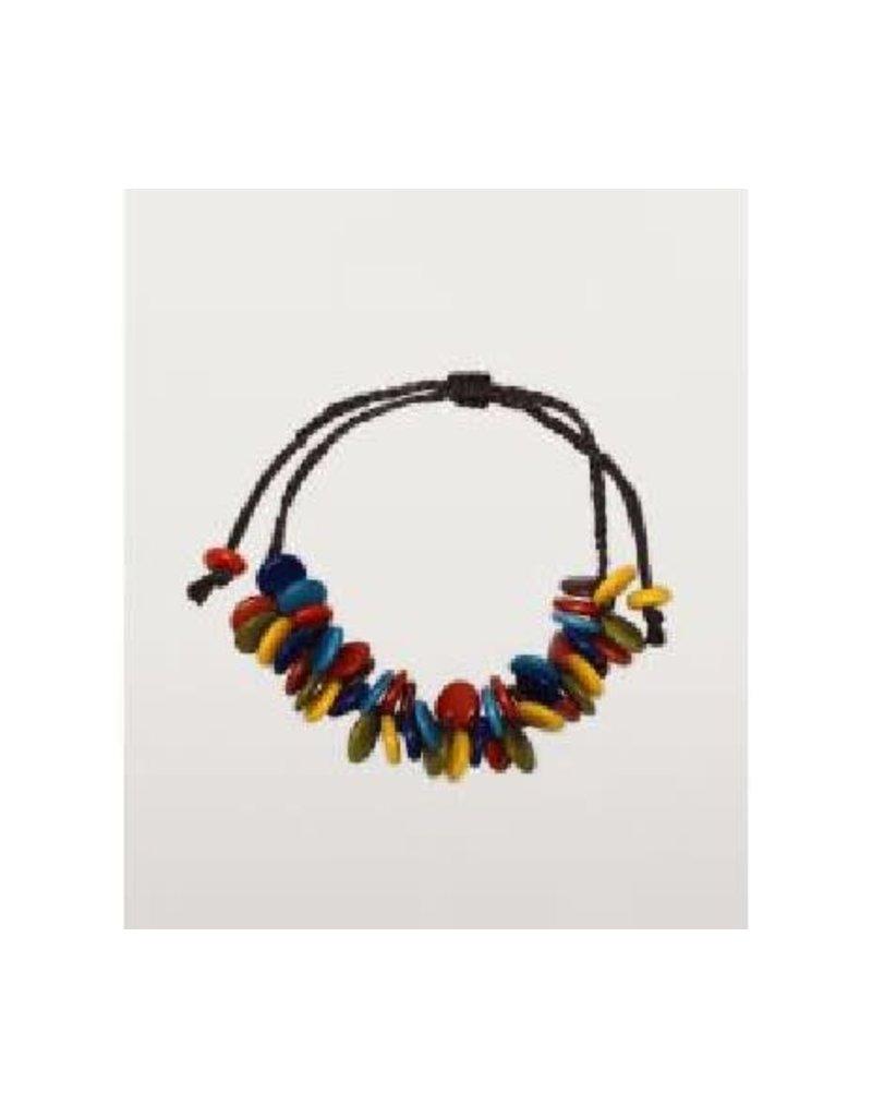 Maquita Tagua Cluster Bracelet