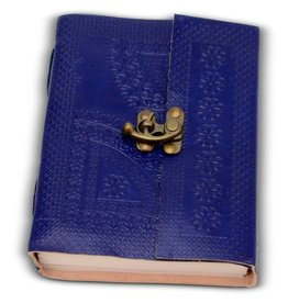 Noah's Ark Blue Beauty Embossed Journal