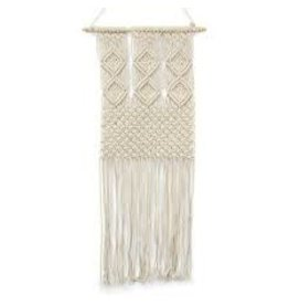 Asha Handicrafts Diamond Adorned Macrame Wall Hanging