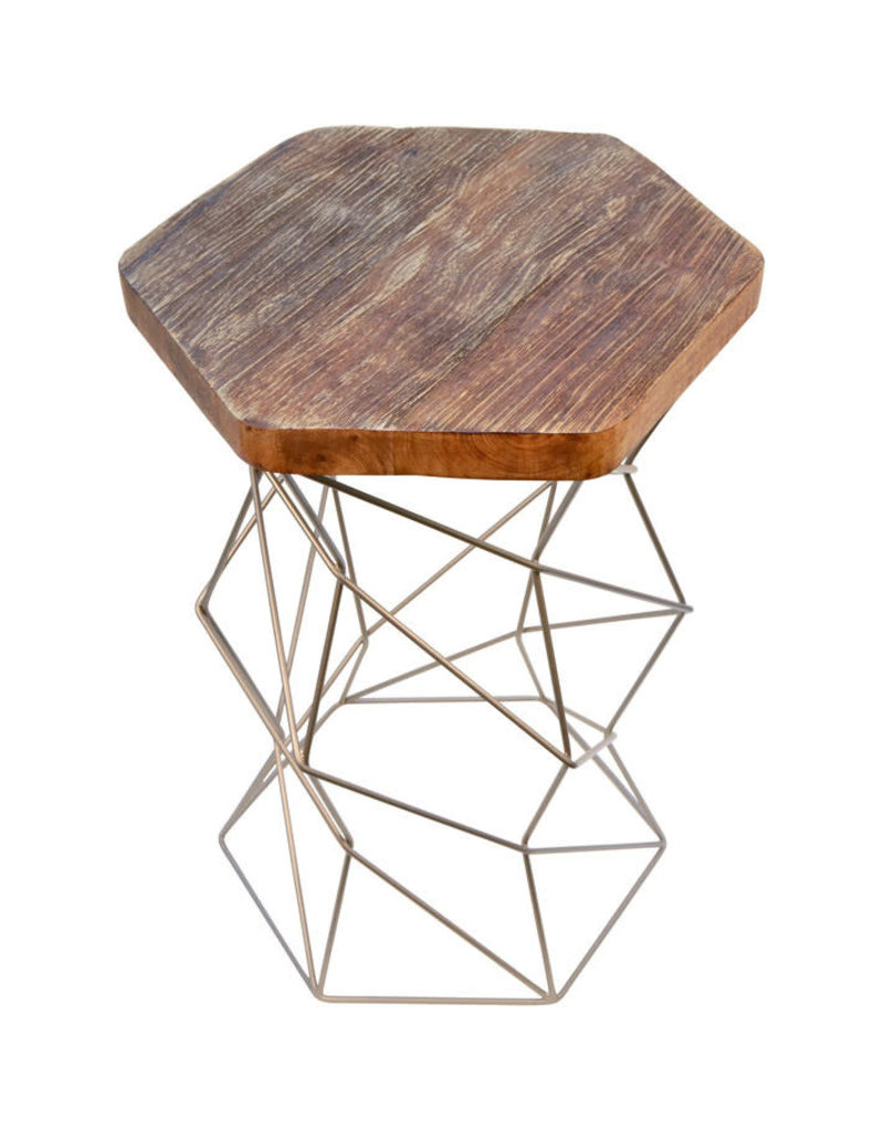 Noah's Ark Hexagon Side Table