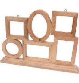 Noah's Ark Multi Mangowood Frame