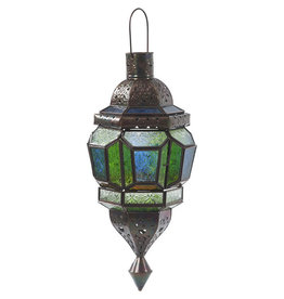 Noah's Ark Glass Kasabah Lantern