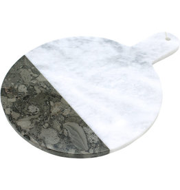 Dominion Traders Fossil Stone Marble Cutting Board