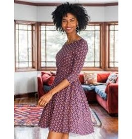 Mata Traders Novela Plum Dress