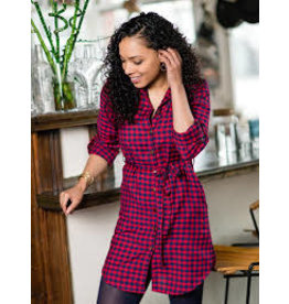 Mata Traders Sabina Red Gingham Dress
