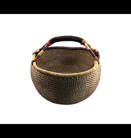 TradeAID Bolga Basket Standard Large Natural Handle