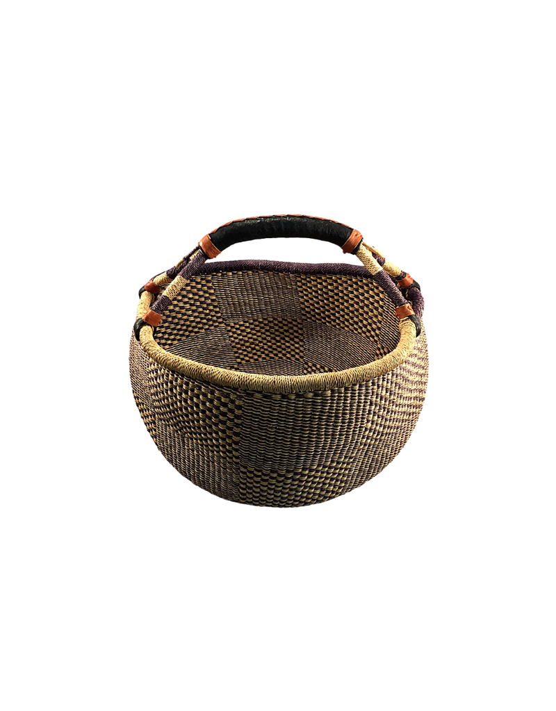 TradeAID Bolga Basket Standard Large Natural Handle