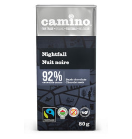 Camino Camino Chocolate Bar 92% Nightfall