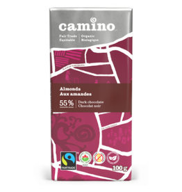 Camino Camino Chocolate Bar Dark Chocolate with Almonds