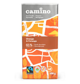 Camino Camino Chocolate Bar Dark Chocolate with Orange