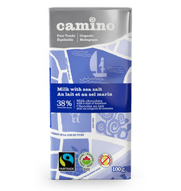 Camino Camino Chocolate Bar Milk with Sea Salt