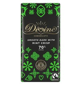 Divine Chocolate Divine Chocolate Bar Dark with Mint