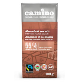 Camino Camino Chocolate Bar Almond and Sea Salt