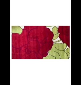 Kumbeshwar Technical School Elegant rose wool rug