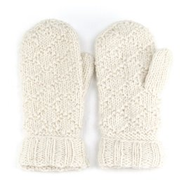 Laundromat Tiffany Cream Mittens