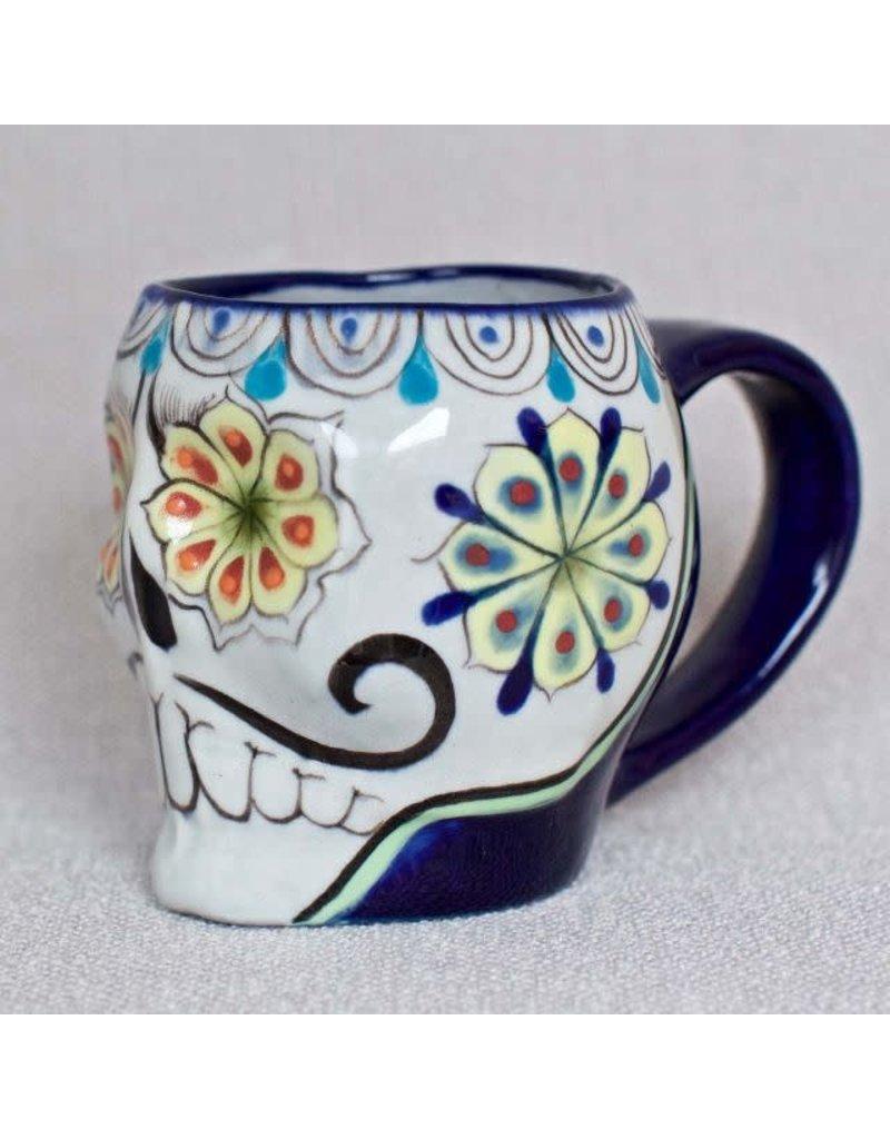 Ceramic Sugar Skull Mug