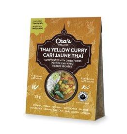 Cha's Organics Thai Yellow Curry Paste