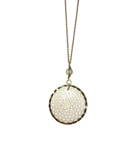Sasha Association for Crafts Producers Round Filigree Necklace