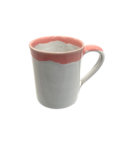 Association of Craft Producers Coral Rimmed Mug
