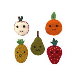 Association of Craft Producers Fruit Bag Finger Puppets