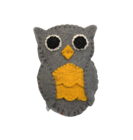 Association of Craft Producers Owl Felt Finger Puppet