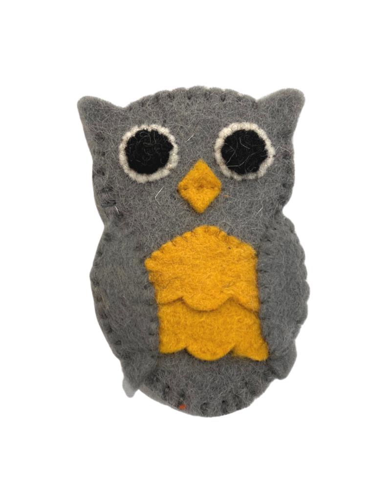 Association of Craft Producers Owl Felt Finger Puppet