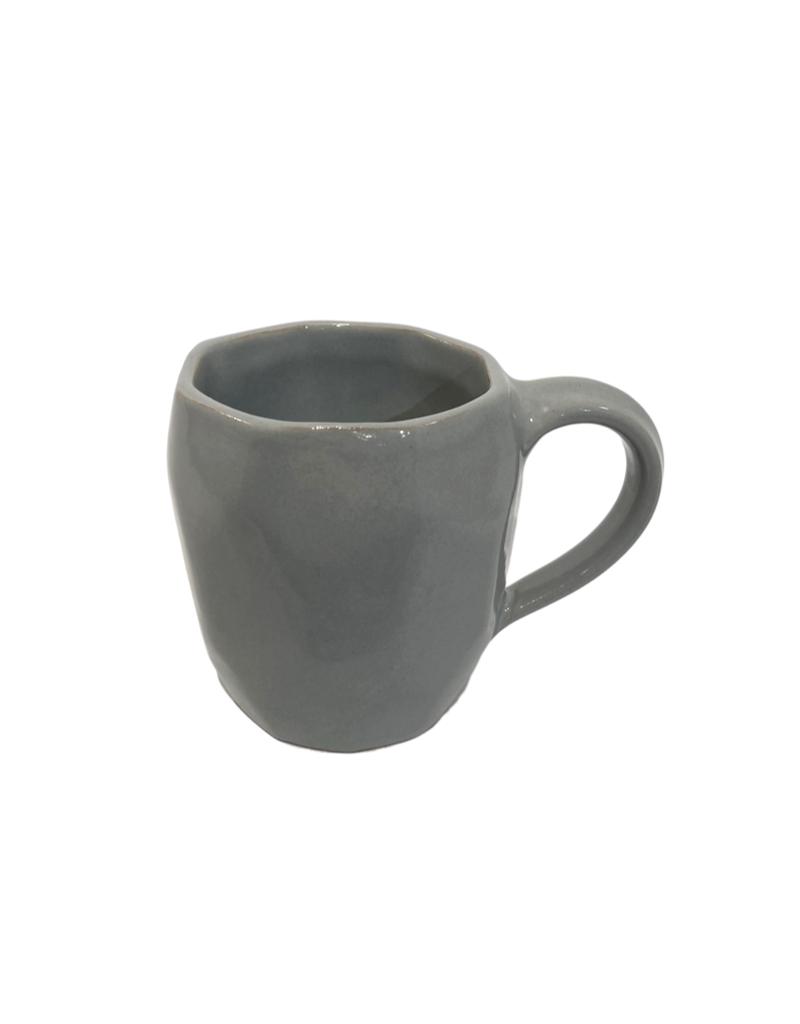 Association of Craft Producers Grey Octagon Stoneware Mug