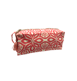 Saidpur Enterprises Canvas Floral Travel Bag - Red