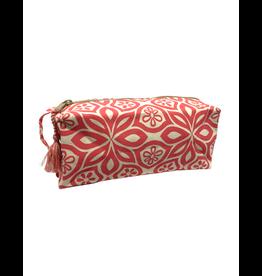 Saidpur Enterprises Canvas Floral Travel Bag - Red