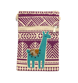 Saidpur Enterprises Crossbody Llama Travel Purse