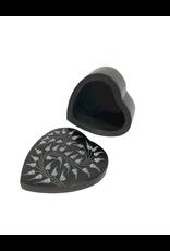 Sasha Association for Crafts Producers Palewa Stone Heart Shaped Box