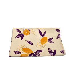 Association of Craft Producers Citrus Print Tea Towel - Purple