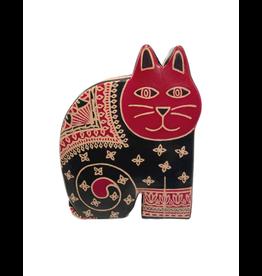 Matr Boomie Leather Cat Bank