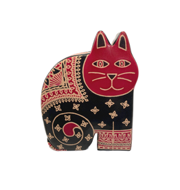 Sasha Association for Crafts Producers Leather Cat Bank