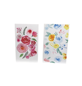 Silence Beautiful Brights Floral Greeting Cards (set of 2)