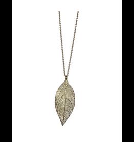 Sasha Association for Crafts Producers Leaf Pendant Necklace