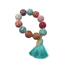 Sasha Association for Crafts Producers Handwrapped Beaded Bracelet