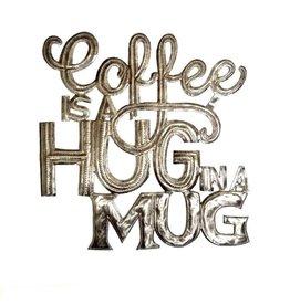Papillon Coffee Hug Wall Hanging
