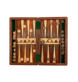 Sasha Association for Crafts Producers Mixed Wood Backgammon Game